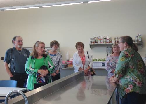 Touring the Kitchen May 13, 2016