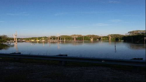 Ball fields south of fairgrounds August flooding 2017